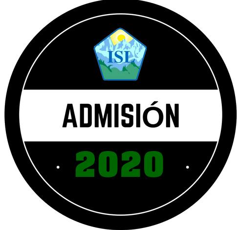 Admision 2019